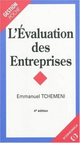 L'Evaluation des Entreprises