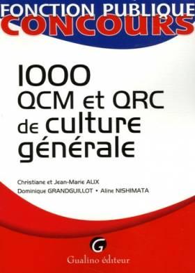 1000 QCM et QCR de culture...