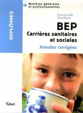 BEP Carrières sanitaires et...
