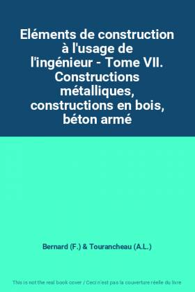 Eléments de construction à...