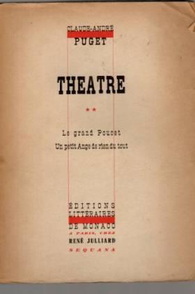 Théâtre II. le grand...