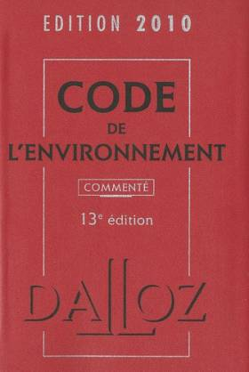 Code de l'environnement 2010