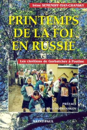 Printemps de la foi en Russie