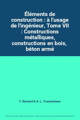 Éléments de construction :...