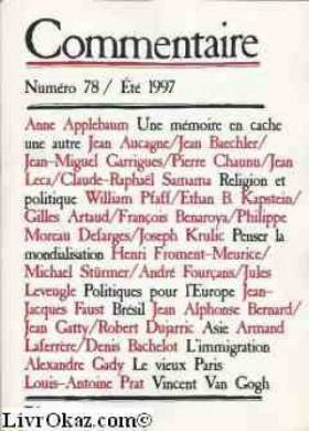 Collectif - Commentaire n° 78 - Eté 1997