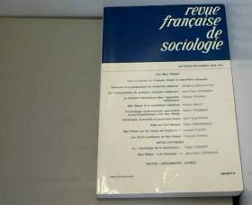Revue française de...
