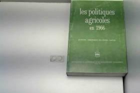 Les Politiques agricoles en...