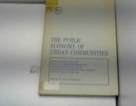 The Public economy of urban...