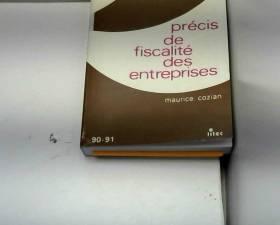 Précis de fiscalité des...