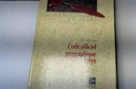 Code officiel géographique...