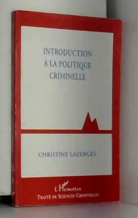 Introduction à la politique...