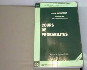 Cours de probabilités