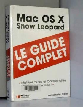 Jean-Sébastien Cherel - Mac OS X Snow Leopard