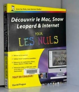 DAVID POGUE - DECOUV MAC SNOW LEOPARD PR NUL