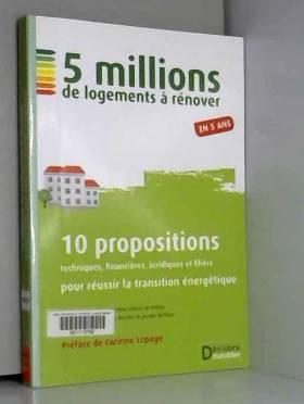 5 millions de logements à...