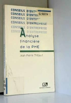 Analyse financière de la PME