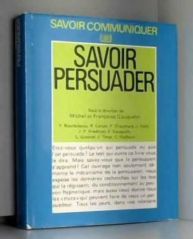 Savoir persuader