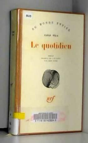 Carlo Villa. Le Quotidien :...