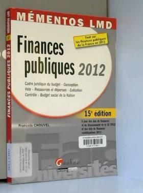 Finances publiques 2012 :...