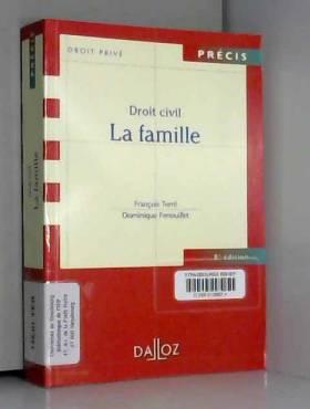 Droit civil La famille - 8e...