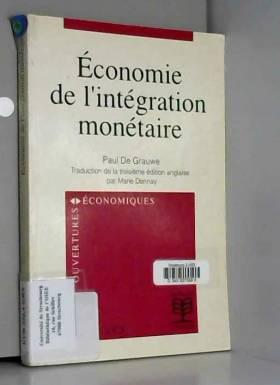 Economie de l'intégration...