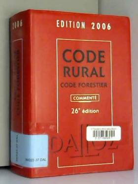 Code rural Code forestier :...