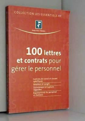 100 lettres et contrats...