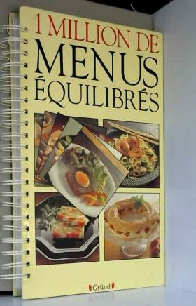 1 million de menus équilibrés