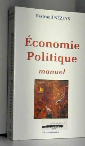 Bertrand Nezeys - Economie politique