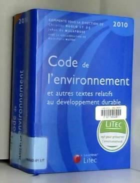 Code de l'environnement et...
