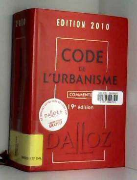 Code de l'urbanisme 2010...