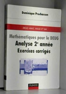 Mathématiques pour le Deug...