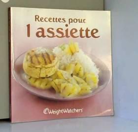 collectif - recettes pour 1 assiette - collectif
