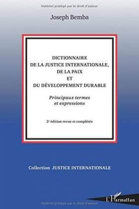 Dictionnaire de la Justice...