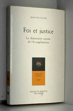 Foi et justice : La...