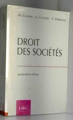 Droit des sociétés, 14e...