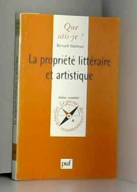 La propriété littéraire et...
