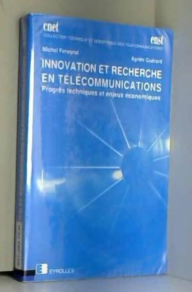 Innovation et recherche en...