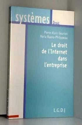Le droit de l'Internet dans...