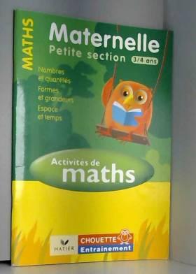 Activités de Maths...