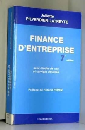 Juliette Pilverdier-Latreyte - Finance d'entreprise