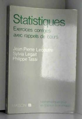 Statistique : Exercices...