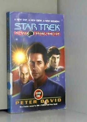 STAR TREK NEW FRONTIER BOOK...