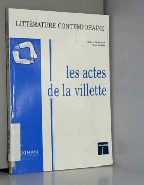Actes de la Villette 1993....