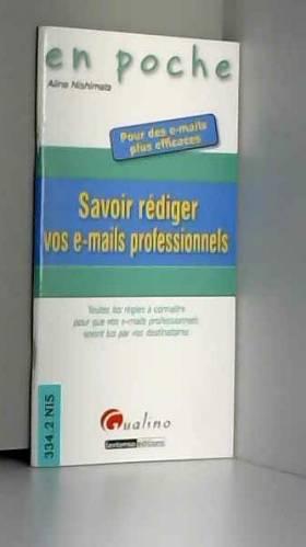 Savoir rédiger vos e-mails...