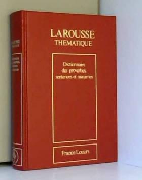 Dictionnaire des proverbes,...