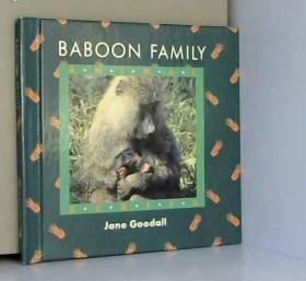 Jane Goodall - Baboon Family [Animal Series]