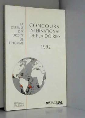 3e Concours international...