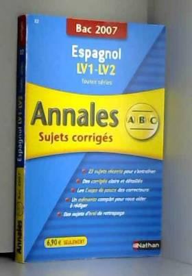 Espagnol : Annales...