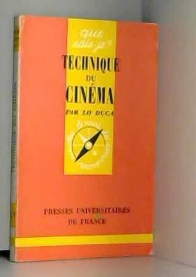 Technique du cinéma.